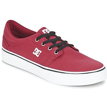 Cipők Férfi Rövid szárú edzőcipők DC Shoes TRASE TX MEN Piros / Fekete