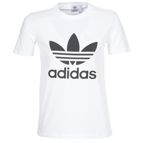 adidas Originals TREFOIL TEE Fehér - Ingyenes Kiszállítás a SPARTOO ... 4a0854052e