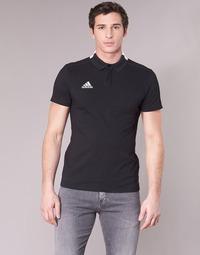 Ruhák Férfi Rövid ujjú galléros pólók adidas Performance CON18 CO POLO Fekete