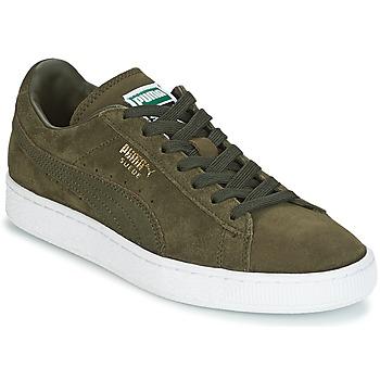 Cipők Férfi Rövid szárú edzőcipők Puma SUEDE CLASSIC + Keki / Fehér