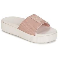 Cipők Női Papucsok Puma PLATFORM SLIDE WNS EP Rózsaszín