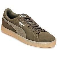 Cipők Női Rövid szárú edzőcipők Puma SUEDE CLASSIC BUBBLE W'S Fekete  / Szürke