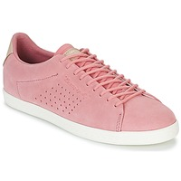 Cipők Női Rövid szárú edzőcipők Le Coq Sportif CHARLINE SUEDE Rózsaszín