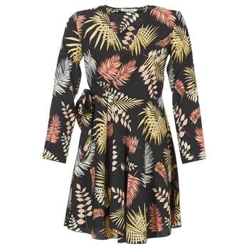 Ruhák Női Rövid ruhák Betty London HYPO Fekete  / Sokszínű