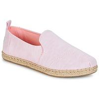 Cipők Női Gyékény talpú cipők Toms DECONSTRUCTED ALPARGATA ROPE Rózsaszín