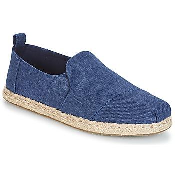 Cipők Férfi Gyékény talpú cipők Toms DECONSTRUCTED ALPARGATA ROPE Kék
