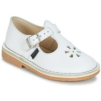 Cipők Gyerek Balerina cipők  Aster DINGO Fehér