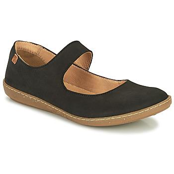 Cipők Női Balerina cipők  El Naturalista CORAL Fekete