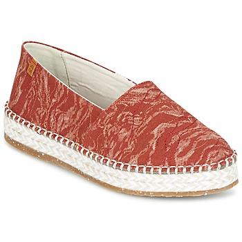 Cipők Női Gyékény talpú cipők El Naturalista SEAWEED CANVAS Piros / Narancssárga