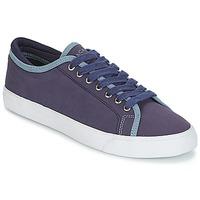 Cipők Férfi Rövid szárú edzőcipők Hackett MR CLASSIC PLIMSOLE Tengerész