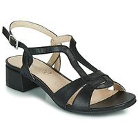 Cipők Női Szandálok / Saruk Caprice SATIBO Fekete