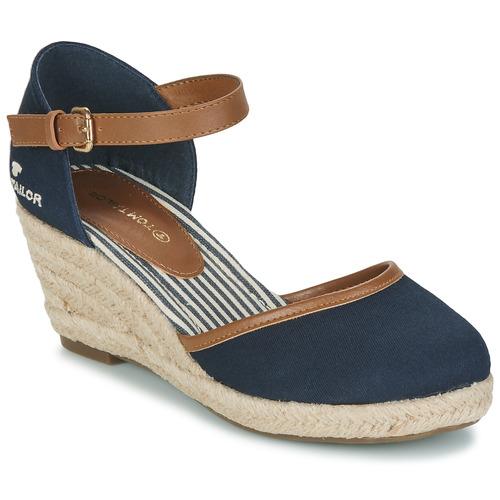 Cipők Női Félcipők Tom Tailor ESKIM Tengerész