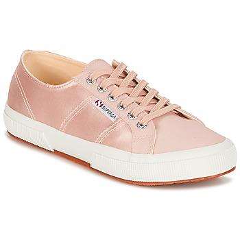 Cipők Női Rövid szárú edzőcipők Superga 2750 SATIN W Rózsaszín