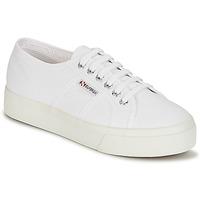 Cipők Női Rövid szárú edzőcipők Superga 2730 COTU Fehér