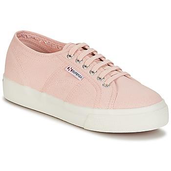 Cipők Női Rövid szárú edzőcipők Superga 2730 COTU Rózsaszín