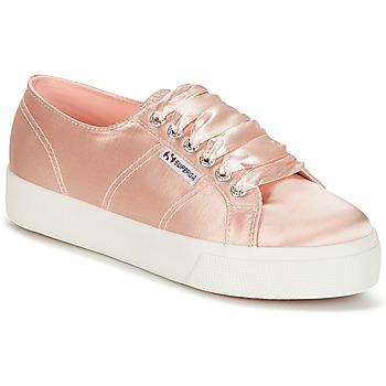Cipők Női Rövid szárú edzőcipők Superga 2730 SATIN W Rózsaszín