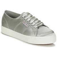 Cipők Női Rövid szárú edzőcipők Superga 2730 SATIN W Szürke