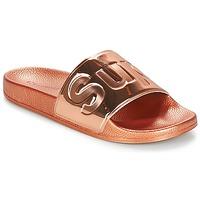 Cipők Női strandpapucsok Superga 1908 PUNE TU Rózsaszín / Arany