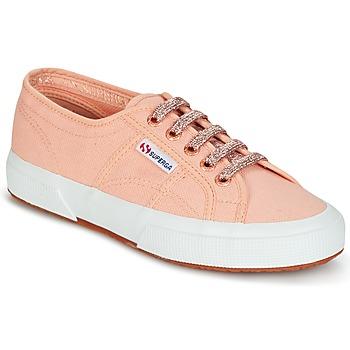 Cipők Női Rövid szárú edzőcipők Superga 2750 CLASSIC SUPER GIRL EXCLUSIVE Rózsaszín