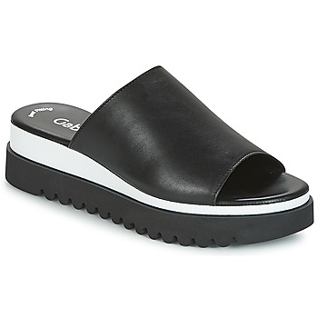 Cipők Női Papucsok Gabor SORIEUX Fekete  / Fehér