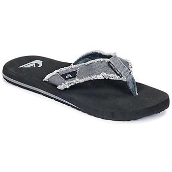 Cipők Férfi Lábujjközös papucsok Quiksilver MONKEY ABYSS M SNDL XSKC Szürke