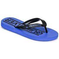 Cipők Fiú Lábujjközös papucsok Quiksilver JAVA WORDMARKYT B SNDL XKBK Kék