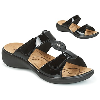 Cipők Női Papucsok Romika IBIZA 82 Fekete
