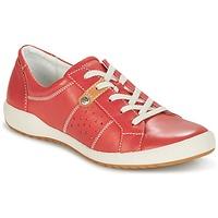 Cipők Női Rövid szárú edzőcipők Romika CORDOBA 01 Kármin