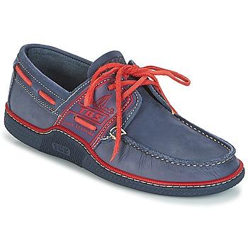 Cipők Férfi Vitorlás cipők TBS GLOBEK Kék / Piros
