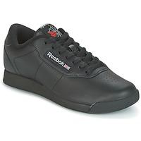 Cipők Női Rövid szárú edzőcipők Reebok Classic PRINCESS Fekete