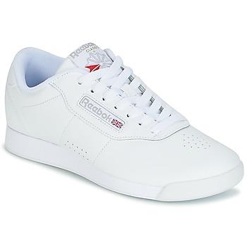 Cipők Női Rövid szárú edzőcipők Reebok Classic PRINCESS Fehér