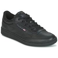 Cipők Rövid szárú edzőcipők Reebok Classic CLUB C 85 Fekete