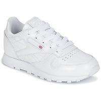 Cipők Lány Rövid szárú edzőcipők Reebok Classic CLASSIC LEATHER PATENT Fehér