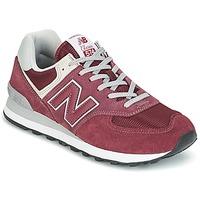 Cipők Rövid szárú edzőcipők New Balance ML574 Bordó