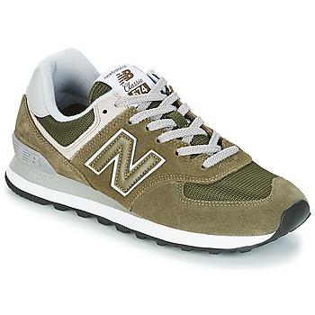 Cipők Rövid szárú edzőcipők New Balance ML574 Oliva