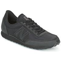 Cipők Rövid szárú edzőcipők New Balance U410 Fekete