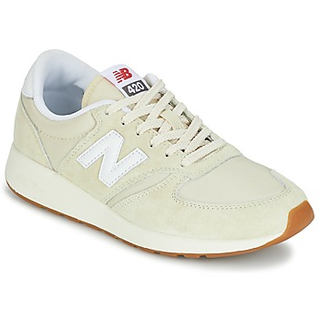 Cipők Női Rövid szárú edzőcipők New Balance WRL420 Bézs