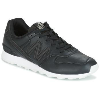 Cipők Női Rövid szárú edzőcipők New Balance WR996 Fekete