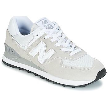 Cipők Női Rövid szárú edzőcipők New Balance WL574 Fehér