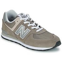 Cipők Gyerek Rövid szárú edzőcipők New Balance 574 Szürke