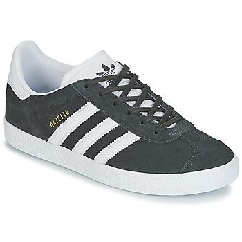 Cipők Gyerek Rövid szárú edzőcipők adidas Originals GAZELLE J Szürke