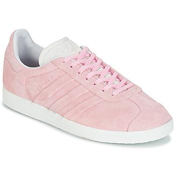Cipők Női Rövid szárú edzőcipők adidas Originals GAZELLE STITCH Rózsaszín
