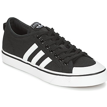 Cipők Rövid szárú edzőcipők adidas Originals NIZZA Fekete