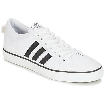 Cipők Rövid szárú edzőcipők adidas Originals NIZZA Fehér
