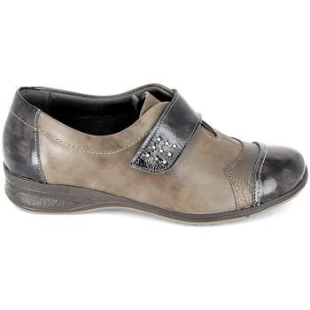 Cipők Női Oxford cipők Boissy Derby 7510 Noir Barna