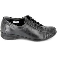 Cipők Női Rövid szárú edzőcipők Boissy Sneakers 7510 Noir Fekete