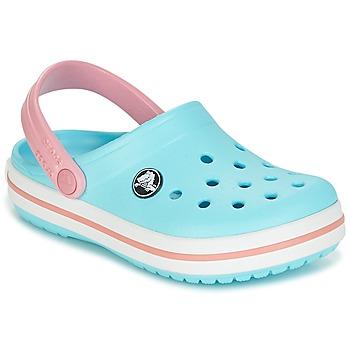 Cipők Gyerek Klumpák Crocs Crocband Clog Kids Kék / Rózsaszín