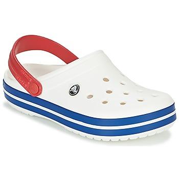 Cipők Klumpák Crocs CROCBAND Fehér / Kék / Piros
