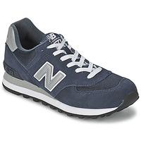 Cipők Rövid szárú edzőcipők New Balance M574 Tengerész