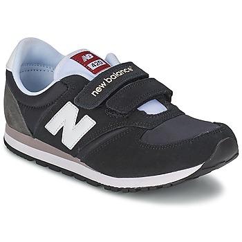 Shoes Gyerek Rövid szárú edzőcipők New Balance KE420 Fekete  / Szürke